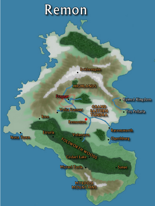 Remon Distreyd Era Map