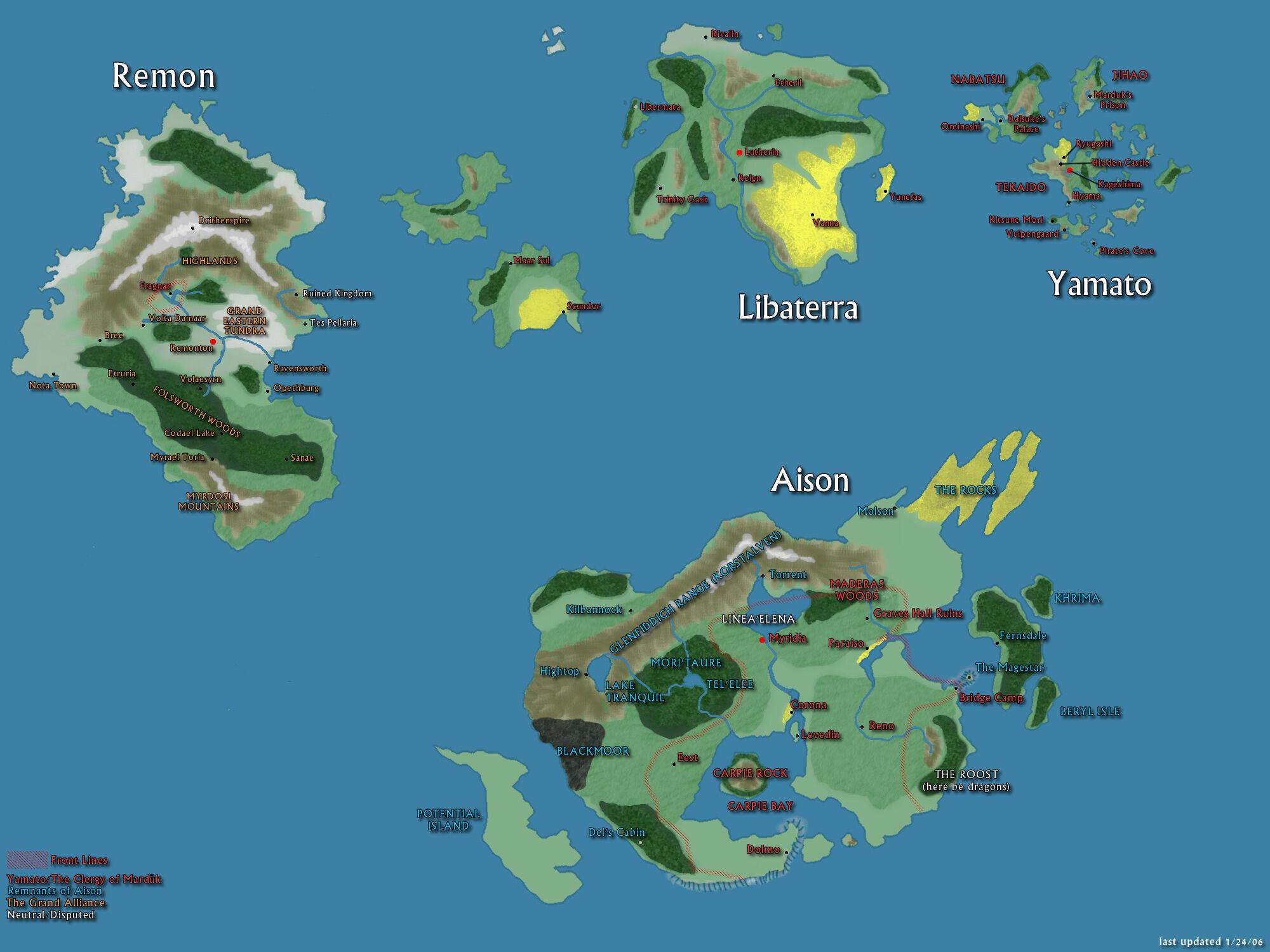 Distreyd Era Map