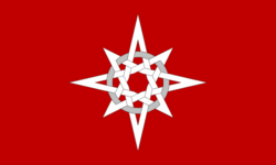 The flag of the Proninist Party