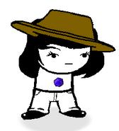 Worn Wide Brim Hat