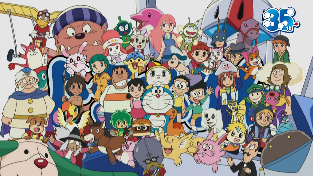 หมวดหมู่ตัวละคร   Doraemon Thai Wiki   Fandom