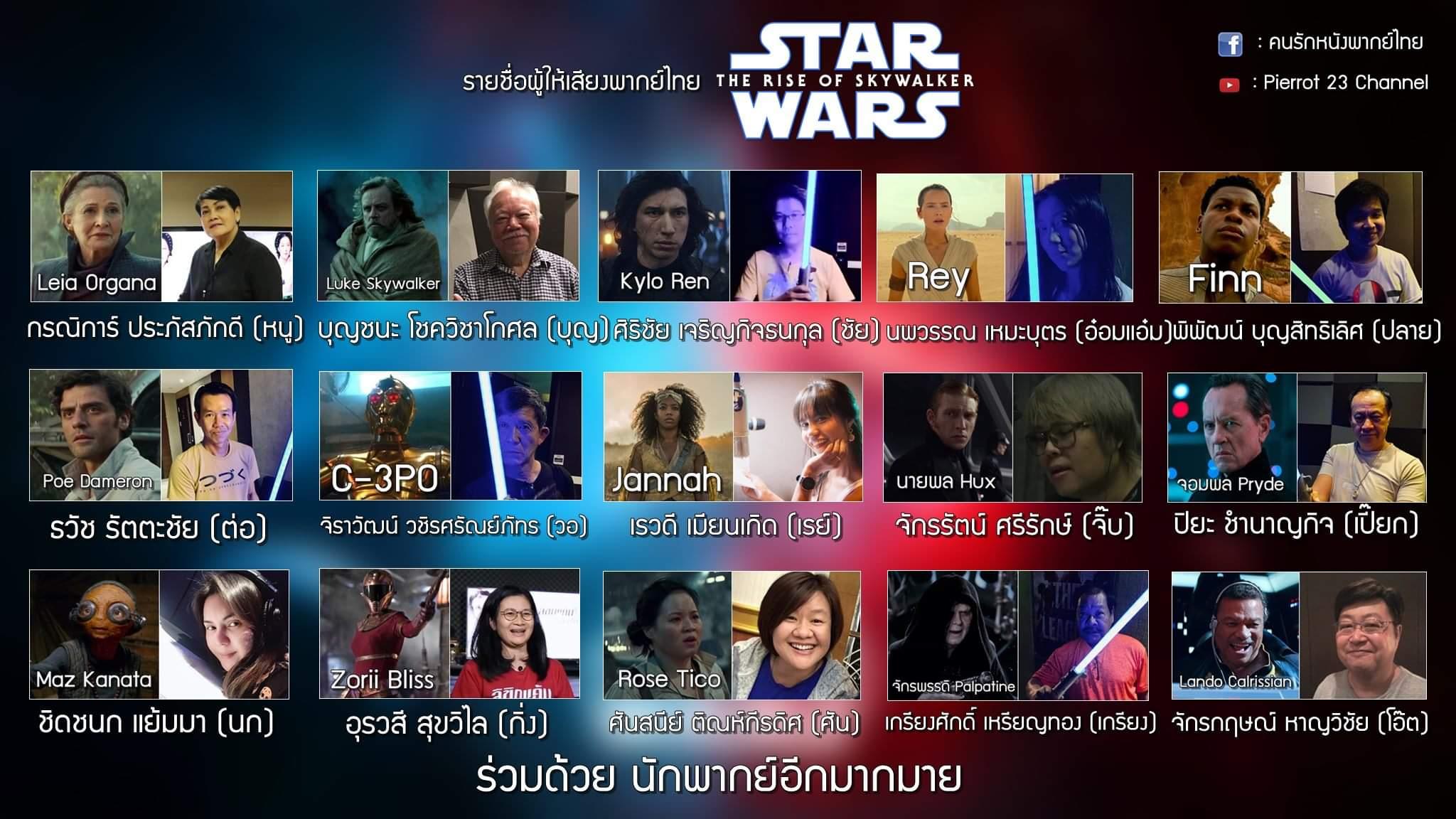 รายชื่อผู้ให้เสียงพากย์ไทย สตาร์ วอร์ส ไตรภาคต่อ.jpg