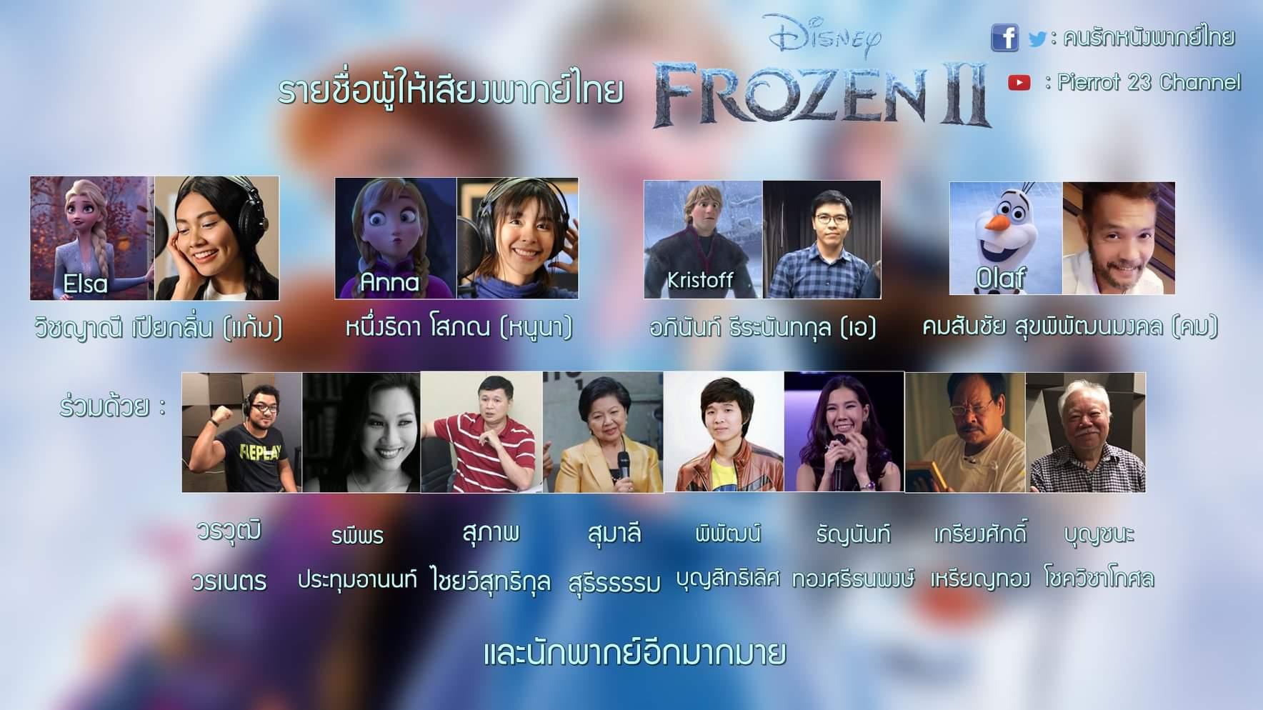 รายชื่อผู้ให้เสียงพากย์ไทย Frozen.jpg