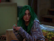 Green haired Jackie