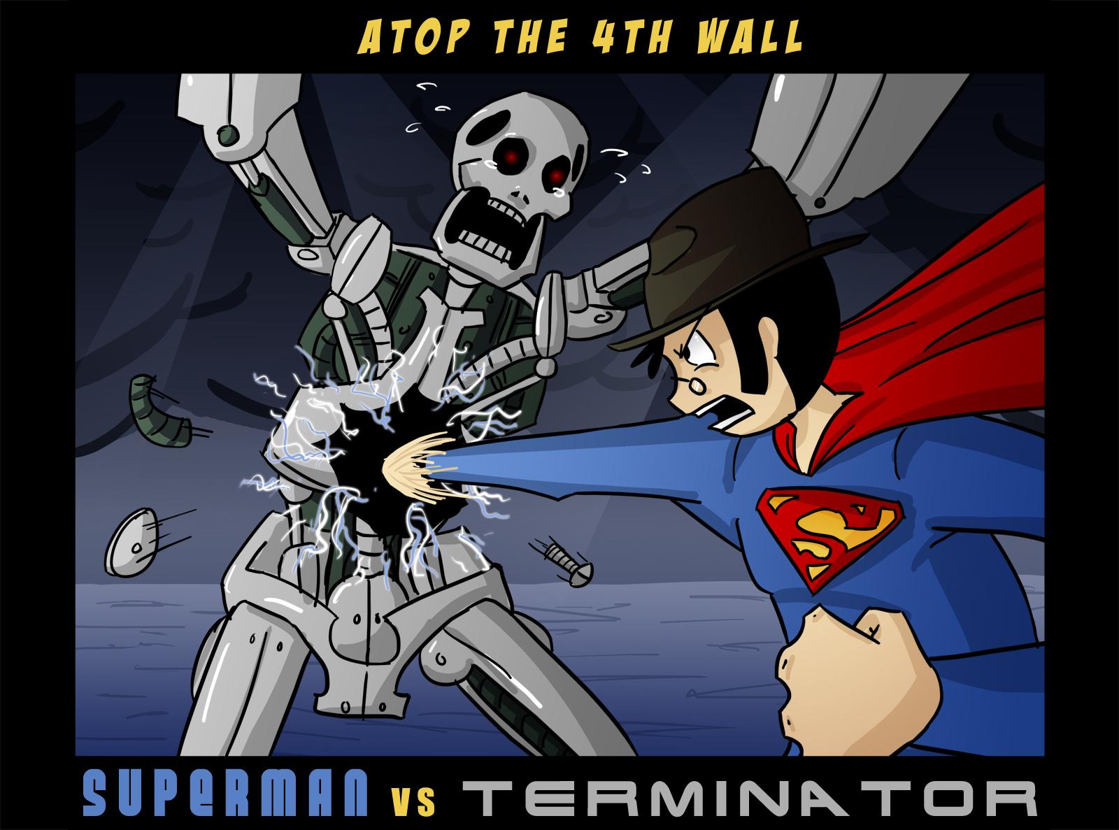 Superman vs Terminator 1