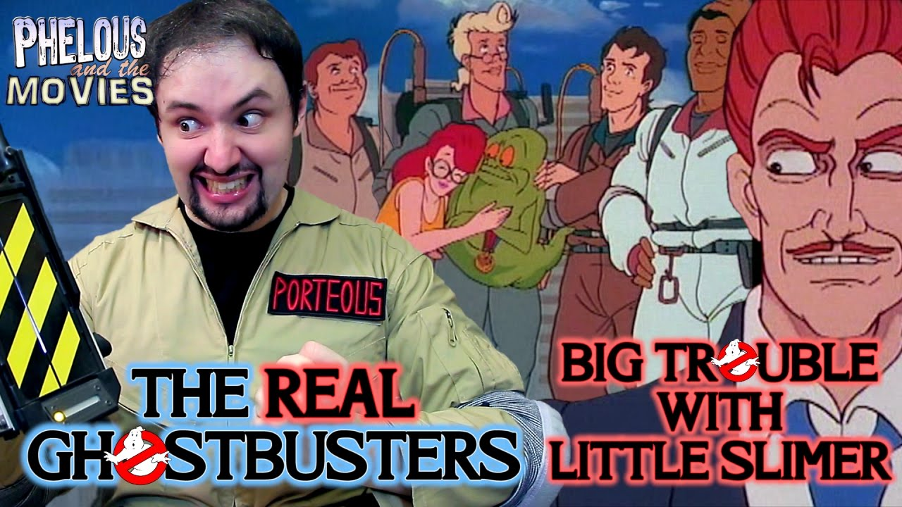 Real Ghostbusters: Big Trouble with Little Slimer