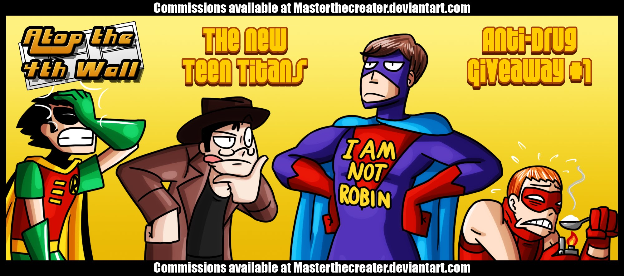 The New Teen Titans Anti-Drug Giveaway 1