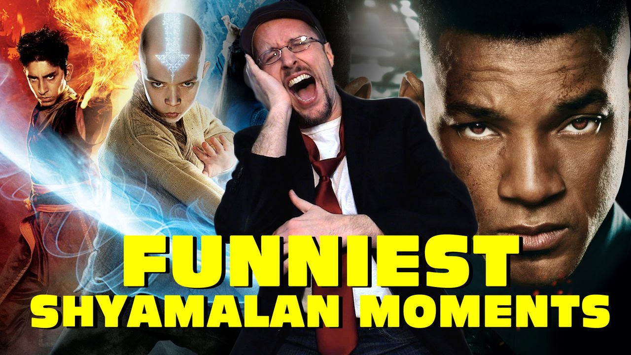 Top 11 Funniest Shyamalan Moments