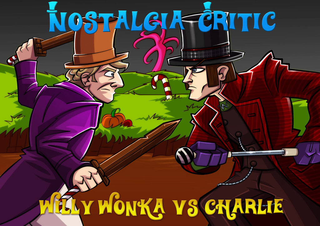 Old vs. New: Willy Wonka