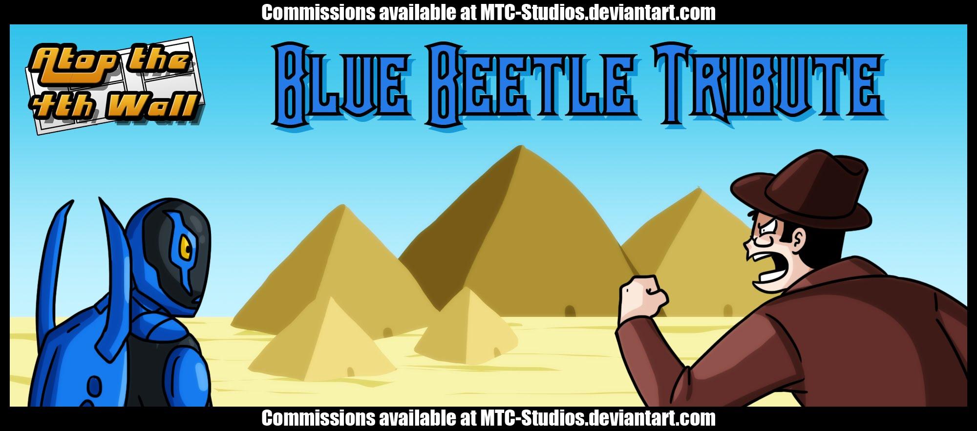 Blue Beetle Tribute