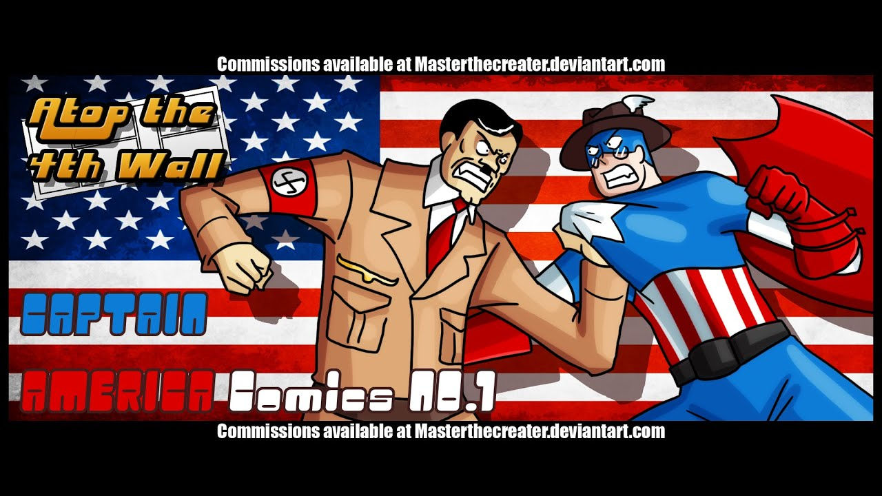 Captain America Comics 1