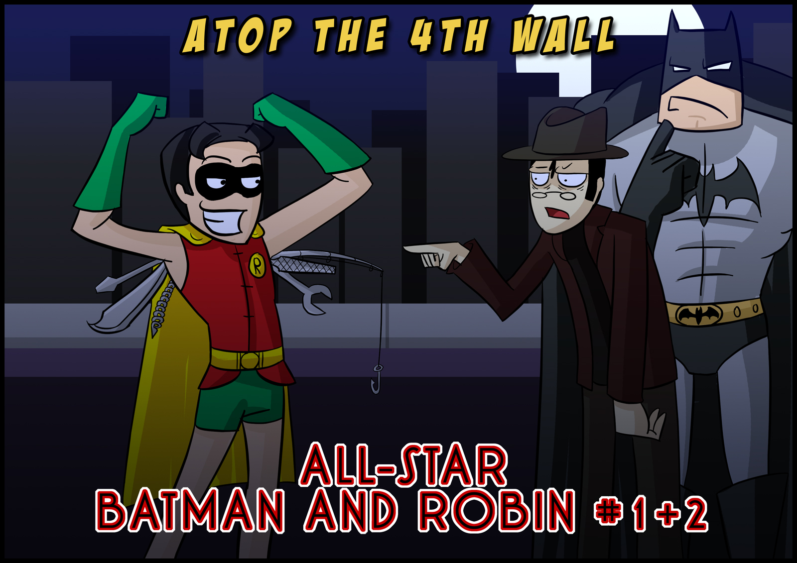 All-Star Batman and Robin 1 and 2