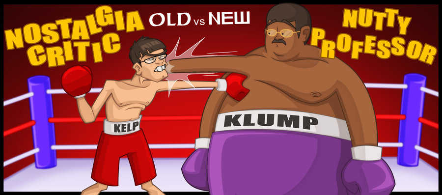 Old vs. New: Nutty Professor