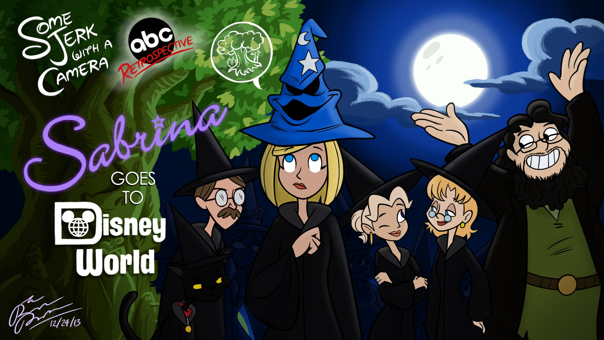 Sabrina the Teenage Witch Goes to Disney World!