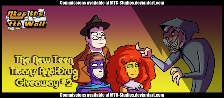 The New Teen Titans Anti-Drug Giveaway 2