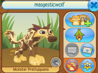Masgesticwolf