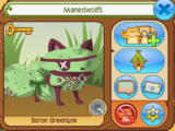 Manedwolfs