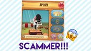 AJPW- CATCHING A SCAMMER!!!! ARUDY SCAMS MY FRIENDS BLACK DRAG AND TRIES TO SCAM ME!!!-1