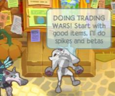 Gifting/Trading Wars