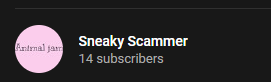 Sneaky Scammer
