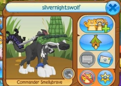 Silvernightswolf