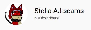 Stella AJ scams