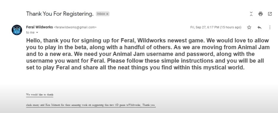 Fer.al Email Scam