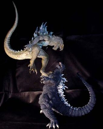 Godzilla Vs Zilla Resin The American Godzilla Wiki Fandom