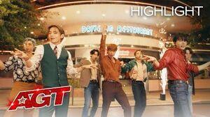 "BTS Performs ""Dynamite"" on AGT - America's Got Talent 2020"