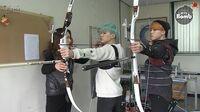 BANGTAN BOMB BTS (방탄소년단) Became an archer! SUGA & JIMIN's new challenge for ISAC