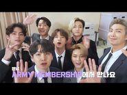 BTS (방탄소년단) ARMY MEMBERSHIP Renewal Message