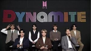 BTS (방탄소년단) 'Dynamite' ONLINE GLOBAL MEDIA DAY ( ENG)
