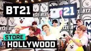 BT21 LINE FRIENDS Hollywood