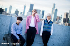 Suga, V and Jungkook D-icon by Dispatch