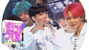 BTS(방탄소년단) - Boy With Luv(작은 것들을 위한 시) @인기가요 Inkigayo 20190428