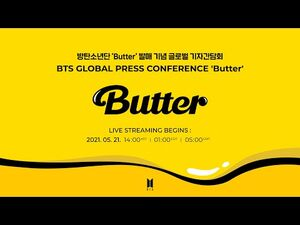 BTS (방탄소년단) Global Press Conference 'Butter' (+ENG)