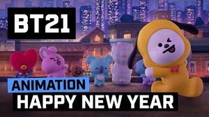 BT21 Happy New Year