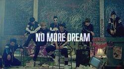 No dream bts more