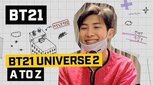 BT21 BT21 UNIVERSE 2 EP