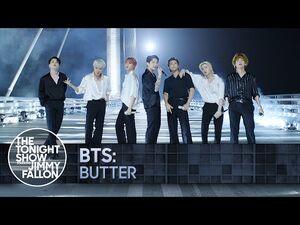 BTS- Butter - The Tonight Show Starring Jimmy Fallon
