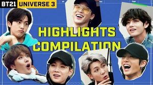 BT21 UNIVERSE 3 Epic Moments - Highlights Compilation