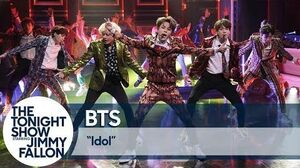 """BTS Performs """"Idol"""" on The Tonight Show"""