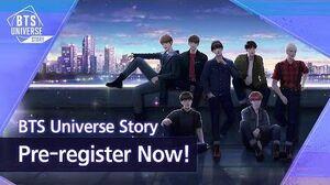 BTS Universe Story Pre-register Now!