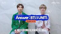 2020 FESTA BTS (방탄소년단) Answer BTS 3 UNITS 'Respect' Song by RM & SUGA