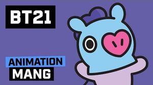 BT21 Hi~ I am MANG