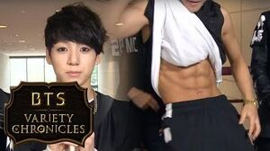The never-seen-before Bonus Clips! The Part When Jimin Reveals His abs!!! BTS Variety Chronicles