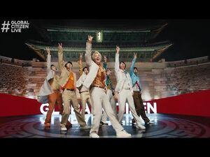 BTS (방탄소년단) 'Permission to Dance' @ Global Citizen Live