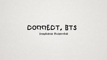CONNECT,_BTS_Interview_with_Stephanie_Rosenthal_@_Berlin