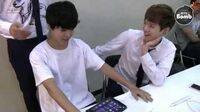 BANGTAN BOMB BTS Match! (1) Omok (SUGA vs Jimin) - BTS (방탄소년단)