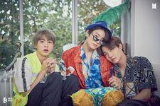 Jin, Jungkook and J-Hope RUN BTS! Photo Exhibition